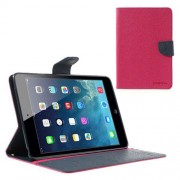 Mercury Goospery Fancy Diary Case for iPad Mini / iPad Mini 2 - Hot Pink