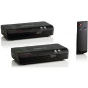 Ripetitore HDMI FullHD tramite rete elettrica, Nero
