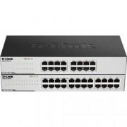 D-Link Síťový switch D-Link, GO-SW-24G/E, 24 portů, 1 GBit/s