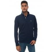 Gant Polo manica lunga Blu Cotone Uomo