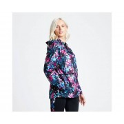 Women's Deviation Waterproof Jacket Active Pink Botanical Print