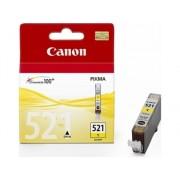 Canon Cartucho de tinta Original CANON CLI521Y Amarillo para PIXMA iP3600, iP4700, MP540, MP550, MP560, MP620, MP630, MP640, MP980, MP990, MX860, MX870