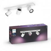 Philips Hue 50623/31/P7 stropní bodové svítidlo Argenta 3x5,7W 2000-6500K RGB - Bluetooth, White and Color Ambiance