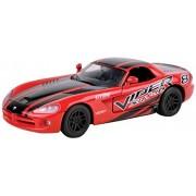 Motormax 2003 Dodge Viper SPT-10 Red / Black (No. 73776)