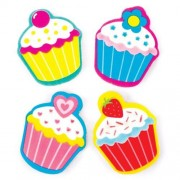 Baker Ross Cool Cupcakes Erasers (Pack of 12)