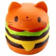 Jucarie SQUISHY Hamburger Pisicuta Toysforfun