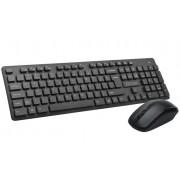 Kit Tastatura + Mouse Wired Delux, KA150+M136, USB, Neagru