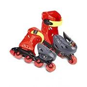 PoshTots kids high quality skate set Roller Skates 4 wheel for kids Gift Toy Adjustable For Kids Skating