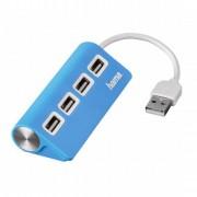 USB 2.0 HUB 1:4 plavi HAMA