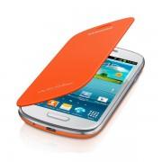 Maska sa preklopom SAMSUNG S4 mini, narandzasta EF-FI919-BOE
