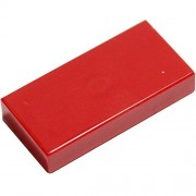 LEGO Bulk Parts: 1 x 2 Tile, Red (PACK of 25)