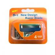 Gillette kompatibla rakblad (4-pack)