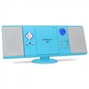 V-12 Aparelhagem CD Stereo MP3 USB SD AUX Azul