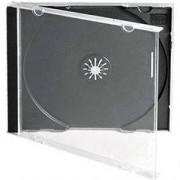 CD-BOX Единични с черен трей (cd box black)