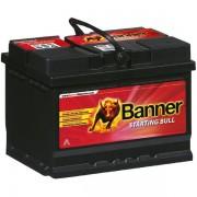 Banner Starting Bull 12V 55Ah 450A 55519 autó akkumulátor jobb+ (+AJÁNDÉK!)