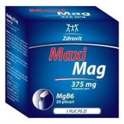 MaxiMag 375mg 20 plicuri Zdrovit