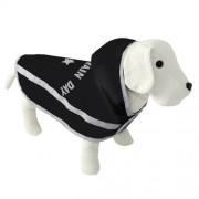 Nayeco Capa impermeable para perros enjoy rain day negro