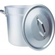 agnelli Fama85bc36 Pentola In Alluminio Con Manici E Coperchio Diametro 360 Mm - Tipo Nord - Fama85bc36
