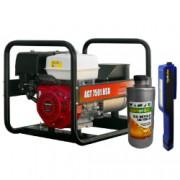 Generator curent AGT 7501 HSB 6 4 kVA motor 13 CP monofazat Industrial + Cadou Lanterna LED magnetica AgroPro + Ulei pentru motoare in 4T
