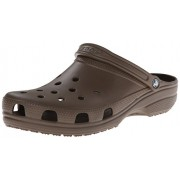 Crocs Unisex's Classic Chocolate Clogs and Mules - M8W10