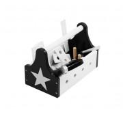 Dřevěný box pro malé kutily s nářadí