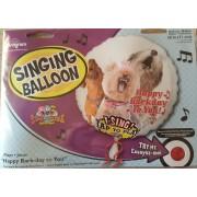 Balon muzical - Happy Bark Day - folie