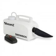 Beamz SNOW 600 máquina de nieve 600W tanque de 0,25L cable de 5m mando a distancia (160.559)