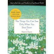 The Things You Can See Only When You Slow Down: How to Be Calm and Mindful in a Fast-Paced World, Hardcover