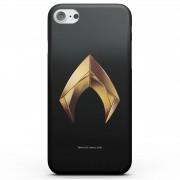 DC Funda Móvil DC Comics Aquaman Gold Logo para iPhone y Android - iPhone 6S - Carcasa doble capa - Mate