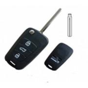 Carcasa telecomanda compatibila Hyundai tip briceag cu 3 butoane