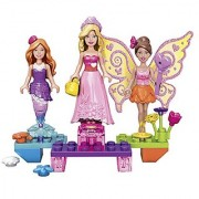 Mega Bloks Barbie Princess Ball Barbie Building Kit