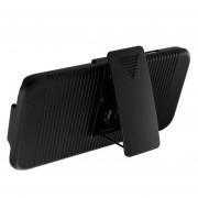 Funda Samsung G935 Galaxy S7 Edge JYX Accesorios Con Clip Para Cinturon - Negro