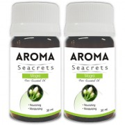 Aroma Seacrets Mogra Pure Aromatherapy Essential Oil Healing and Calming Aroma (30ml) - Pack of 2