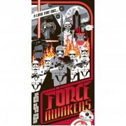 Artland Publications Serigrafía Star Wars: El despertar de la Fuerza - Mark Daniels (30,5 cm x 61 cm)
