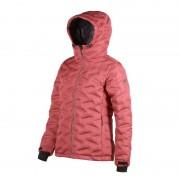 FÅK Red Mountain Welded Down Jacket Women Rosa
