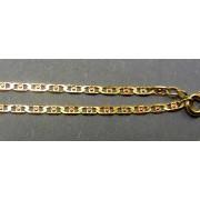 Zlatá retiazka dvojfarebná zo žltého a červeného zlata VR45399
