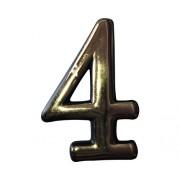 """Numar """"4"""" pentru porti & usi, material PVC"""