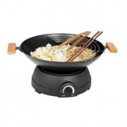 Set Wok et fondue électrique 1600 W DOM194 Livoo