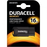Duracell 16GB USB 2.0 Flash drive (DRUSB16PE)