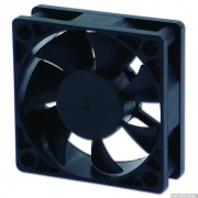 FAN, EVERCOOL 60mm, EC6020M12BA, 2-Ball Bearing, 4000rpm (60x60x20)