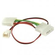 Revoltec adapterkabel 3 pins extra systeemkoele