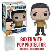 Funko POP TV: Star Trek Beyond - Sulu Duty Uniform Vinyl Figure (Bundled with Pop BOX PROTECTOR CASE)