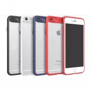 Funda Para IPhone 7 Y 8 Transparente Auto Focus- Multicolor