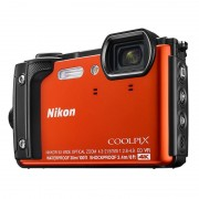 Nikon Coolpix W300 Orange Holiday Kit