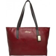 Hidesign Women Red, Brown Shoulder Bag