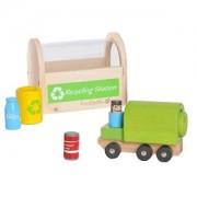 Jouet Camion & Station De Recyclage Everearth - Jouets Bois