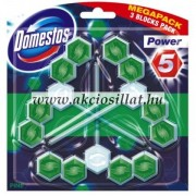 Domestos Power 5 Wc-frissítő Pine 3x55gr