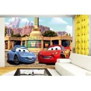 Fototapet Disney Cars McQueen si Sally - 360 x 270 cm