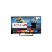 Smart TV LED 65 UHD 4K Sony BRAVIA XBR-65X905E com Android, X-tended Dynamic Range PRO, HDR, MotionFlow XR, Super Bit Mapping, ClearAudio, HDMI e USB