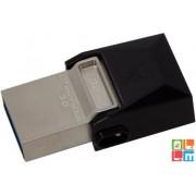 Kingston 32 GB OTG Flash Drive,USB 3.0, Barna